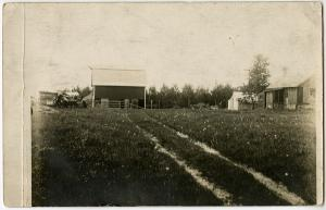 Alois Gottfried - Farm house with barn, Browerville, Minnesota, June 6, 1914
