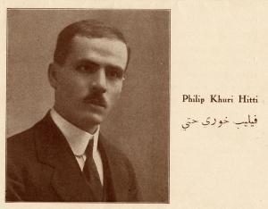 Philip Khuri Hitti,1914